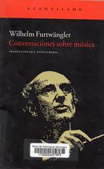 Wilhelm Furtwängler, Conversaciones sobre música