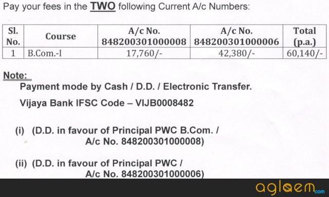 Patna Womens College B.Com Entrance Exam 2018