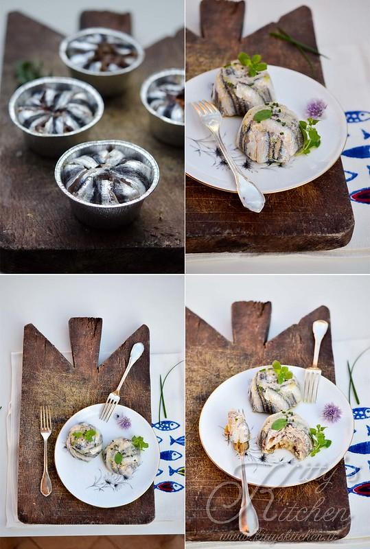 Tortine alici, patate e capperi2