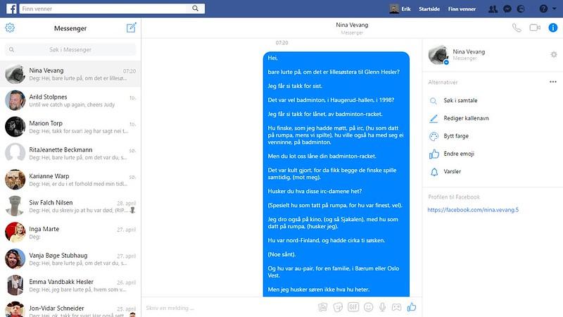 nina vevang facebook 1