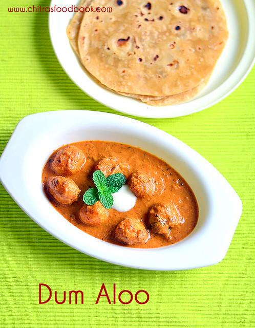 Dum aloo recipe - Restaurant style