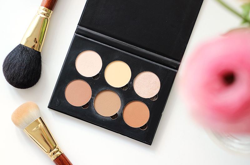 Anastasia Beverly Hills Contour Palette Light to Medium Review And Swatches