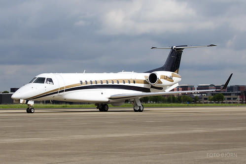 LX-JAG Embraer Legacy 600 Global Jet Luxembourg, Maastricht Aachen Airport - EHBK/MST | by neplev1