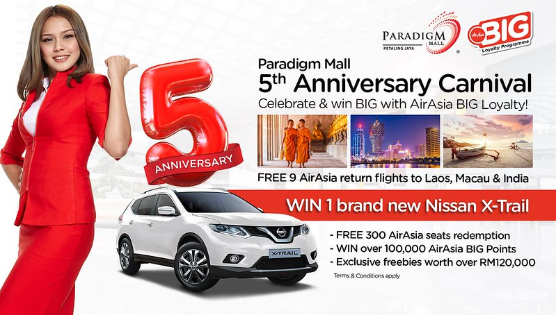 Paradigm Mall 5th Anniversary Carnival