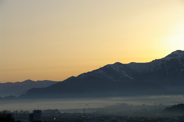 八海山、日の出前_201704_NO2