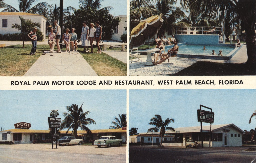 Royal Palm Motor Lodge - West Palm Beach, Florida