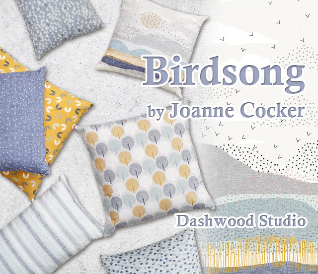 Dashwood Studio Birdsong Collection by Joanne Cocker