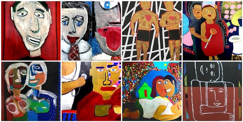 Dennis Garcia paintings