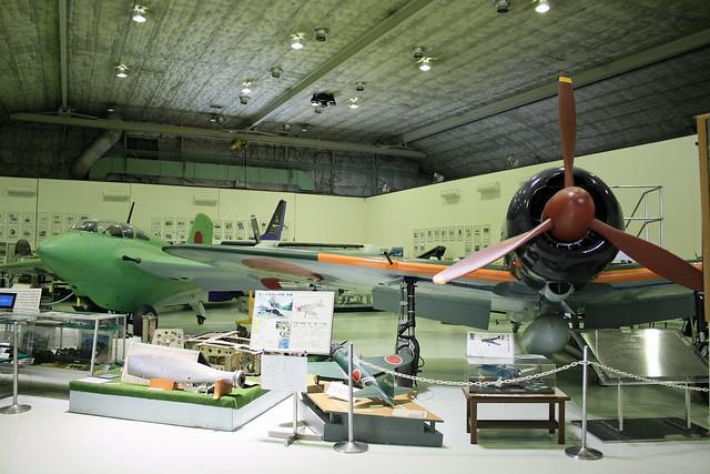 名古屋航空宇宙システム製作所史料室 館内風景 IMG_5266_2