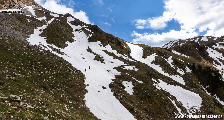 χιονουρες βουνο παναιτωλικο ορος μονοπατι απο βουρλο