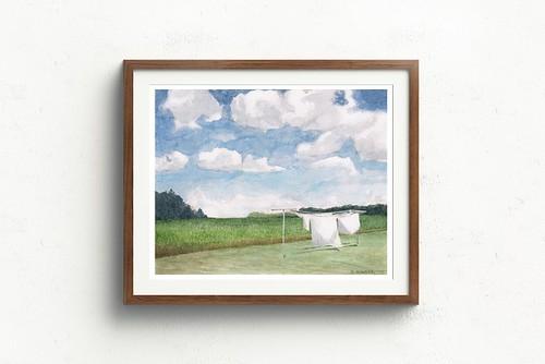 West wind. Artist Rachel Alvarez