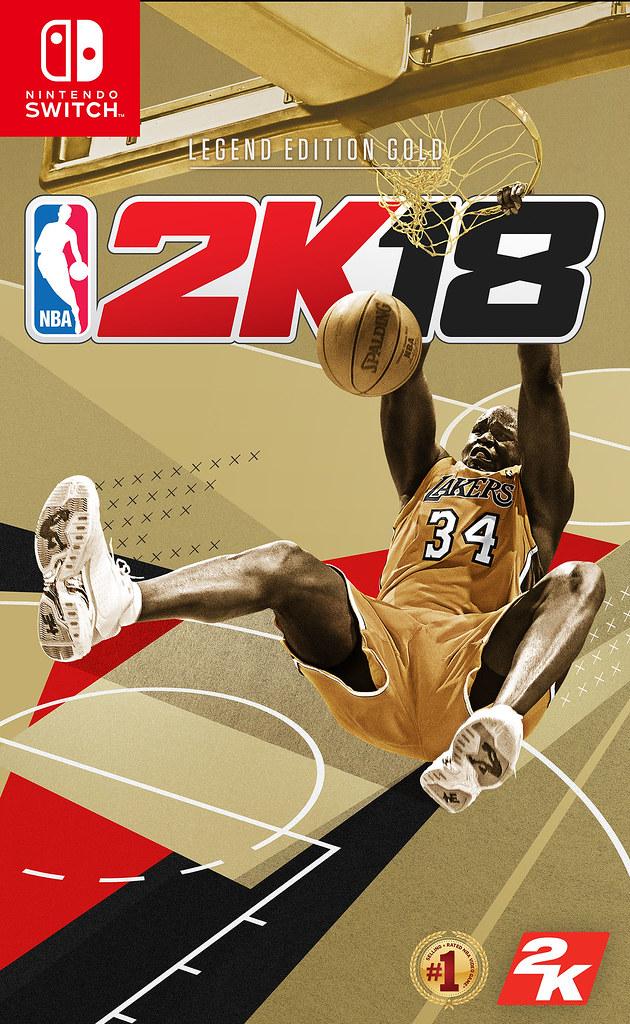 《NBA 2K18 傳奇珍藏版》讓「大亞里斯多德」Shaquille O'Neal榮耀重返籃壇(2K提供)