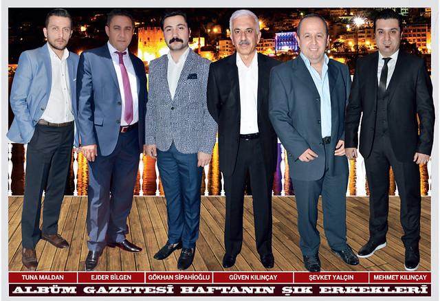Tuna Maldan, Ejder Bilgen, Gökhan Sipahioğlu, Güven Kılınçay, Şevket Yalçın, Mehmet Kılınçay