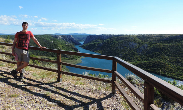 View of Krka Canyon, Krka National Park, Croatia