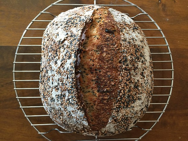 Sesame / Green Onions Bread