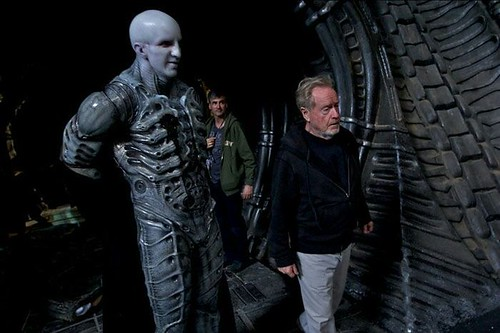 Alien - Covenant - Backstage - Ridley Scott directing