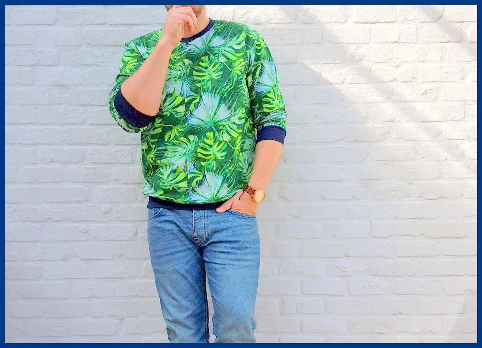 botanical sweater