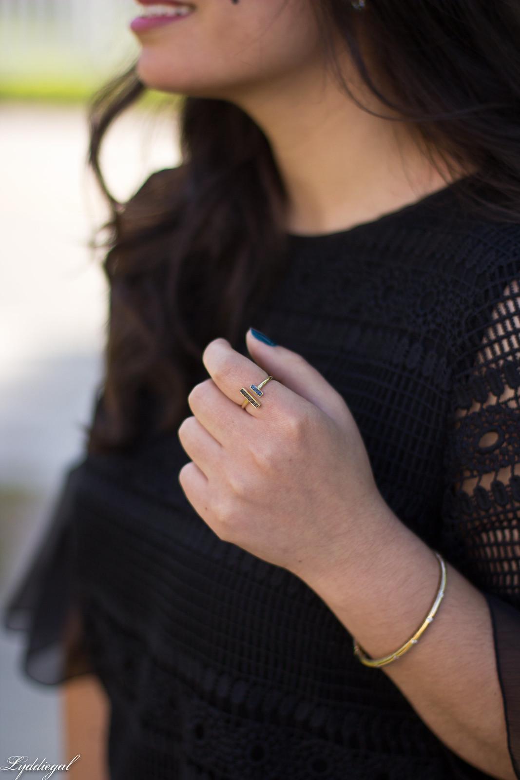 lace bell sleeve blouse, fringe hem jeans, bamboo bag-6.jpg
