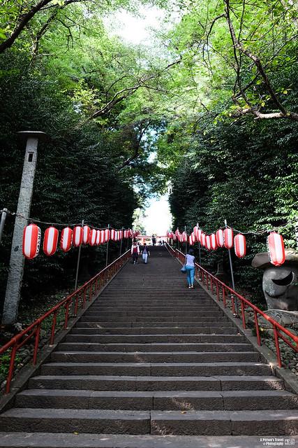 仙台 大崎八幡宮 大石段