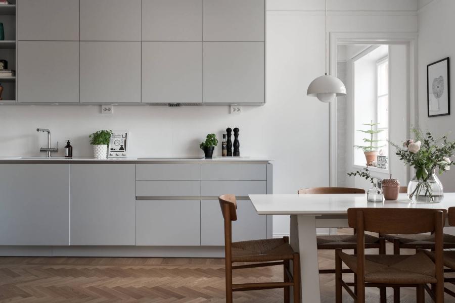 Feminine Scandinavian Home