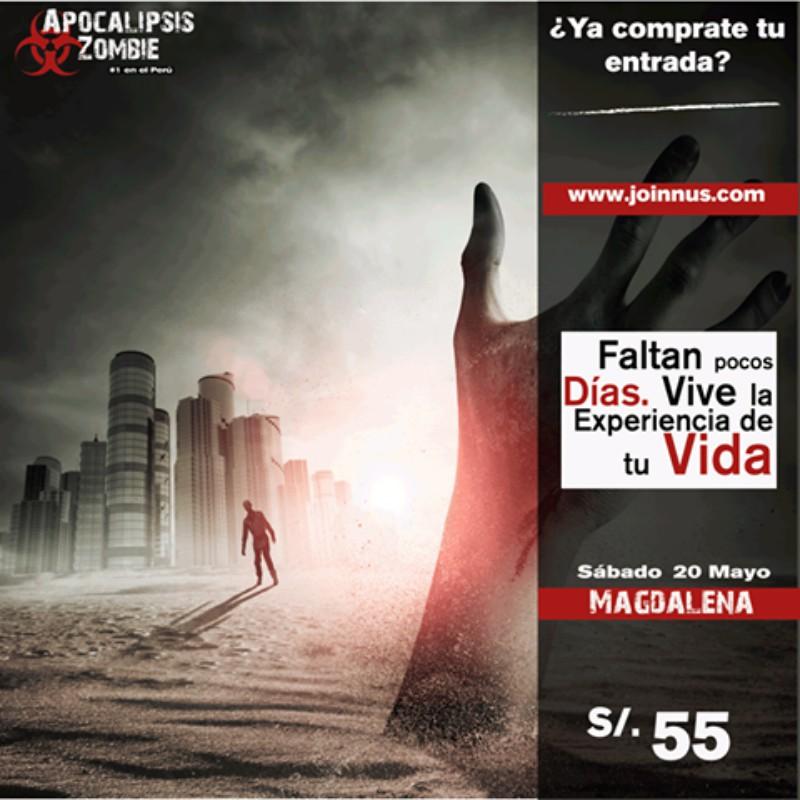Apocalipsis Zombie Magdalena 4ta Edición