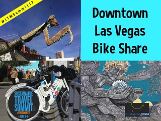 Downtown Las Vegas Bike Share #ITMSummit17