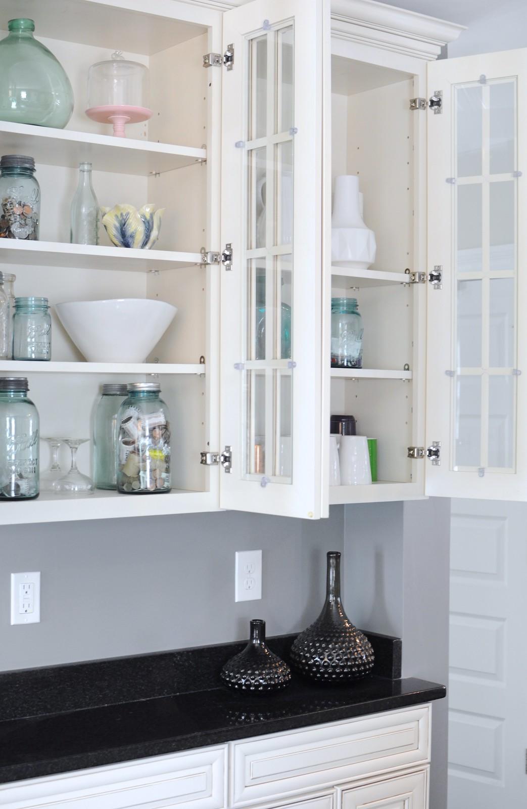 Organizing the Kitchen Hutch