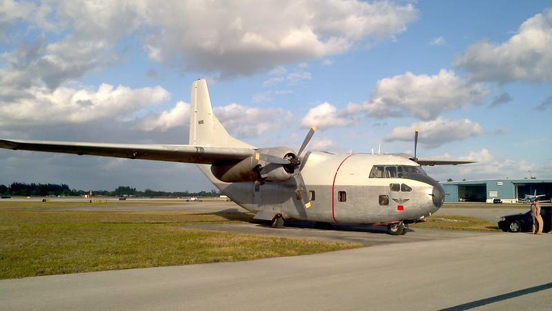 1956 Fairchild C-123K Provider N681DG