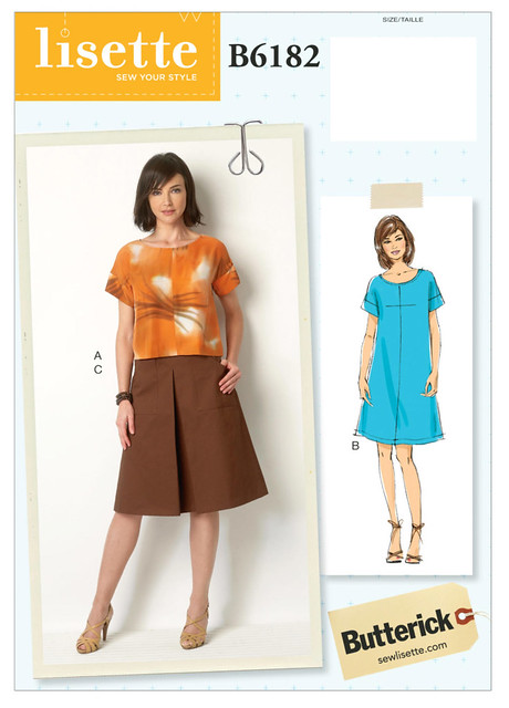 Butterick 6182 pattern env