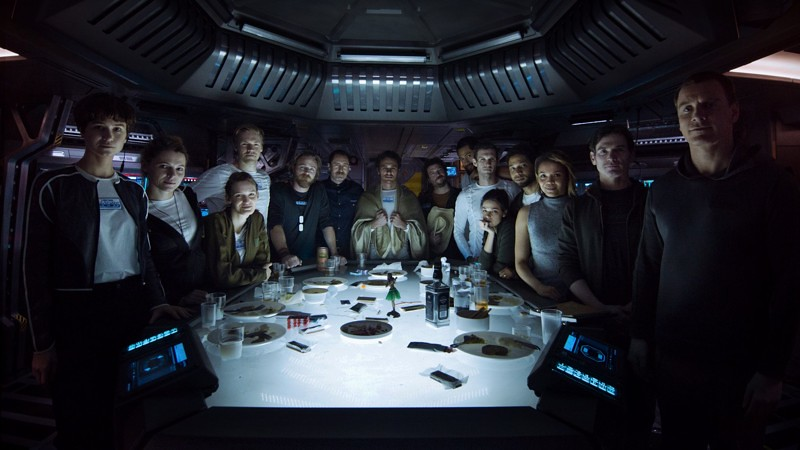 Dónde grabaron Alien Covenant