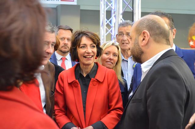 Marisol TOURAINE à l'inauguration de la Foire de Tours