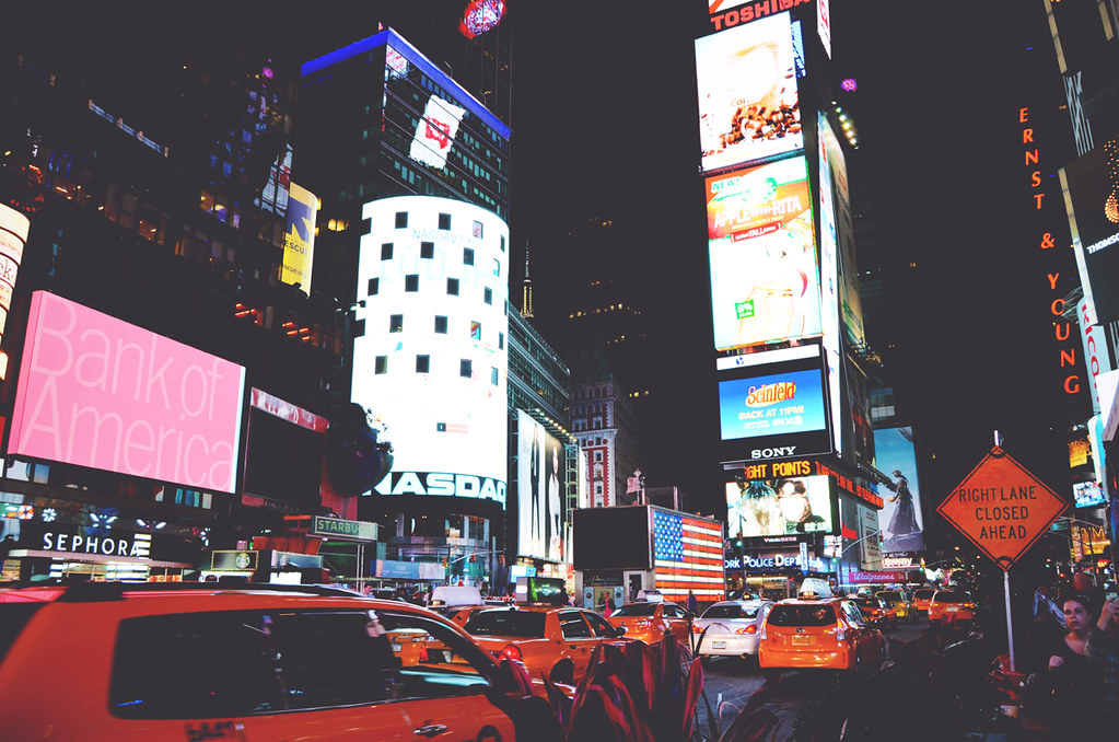 Times Square - New York | via It's Travel O'Clock
