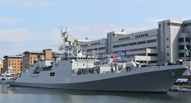 INS Tarkash F50 (41) @ West India Dock 07-05-17