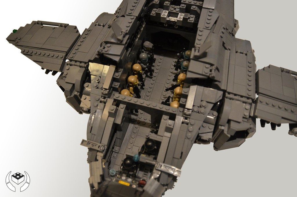lego halo pelican dropship here it finally is my pelican flickr