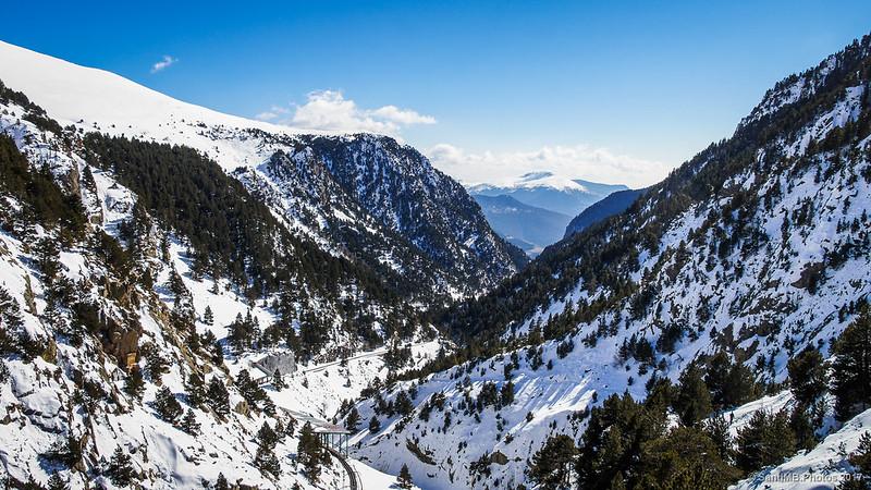 Valle de Núria desde el Mirador de la Creu d'en Riba
