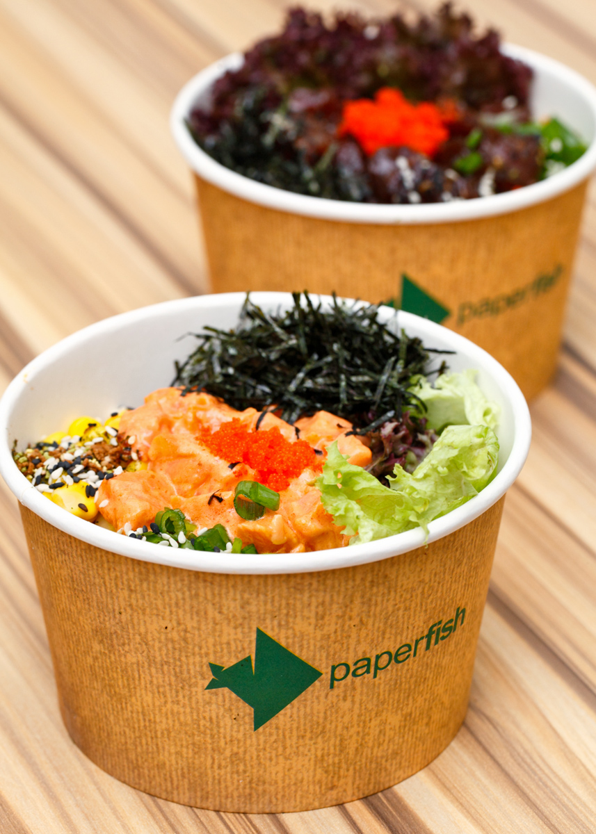 Paperfish Hawaiian Poke bowls