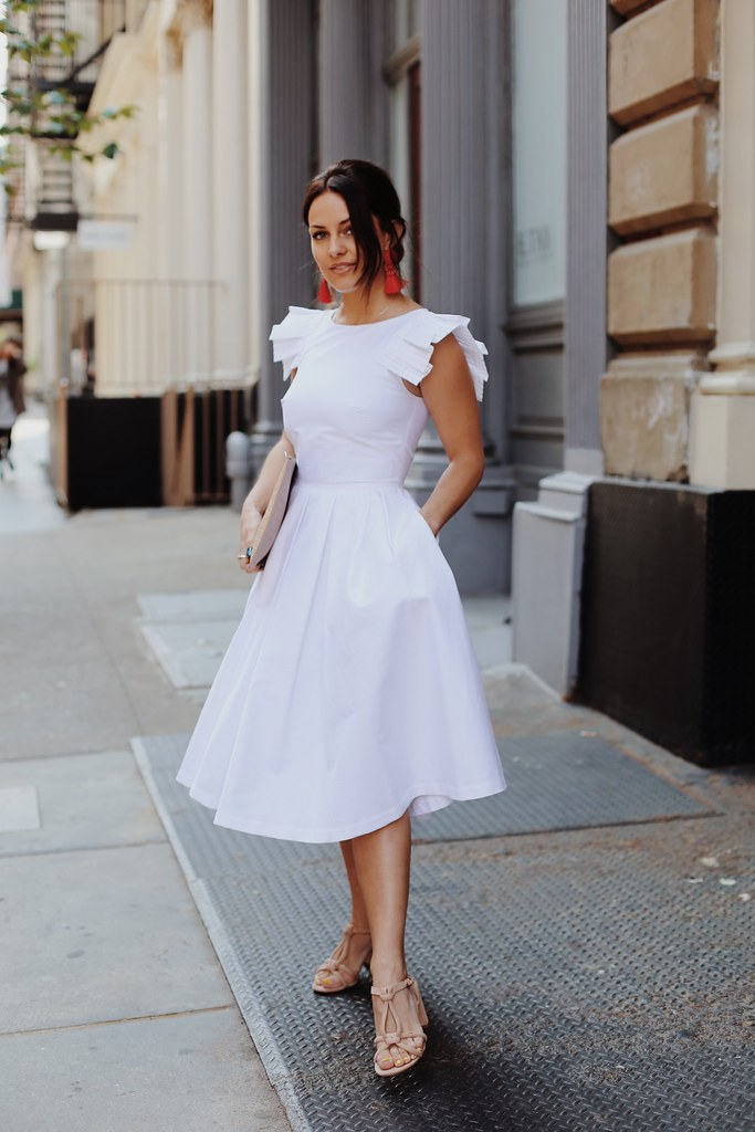 The Little Magpie Ted Baker Selfridges White Dress