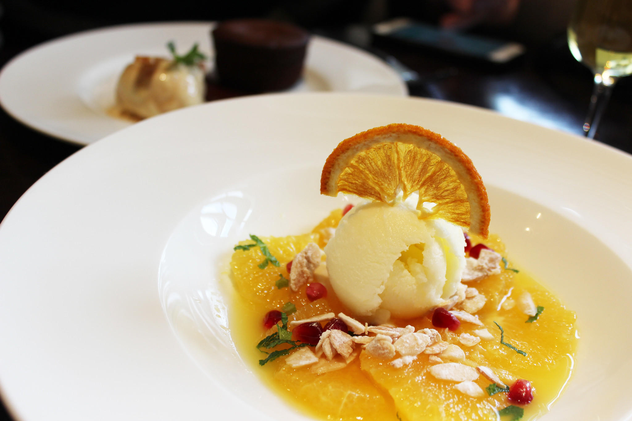 10 orange dessert Hunter 486 The Arch London Restaurant Review FoodFashFit (12)
