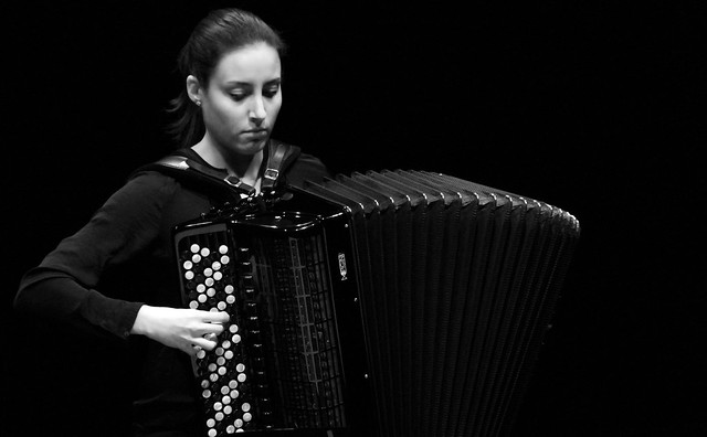 OLGA MORRAL BISBAL, ACORDEÓN - CICLO JUVENTUDES MUSICALES DE ESPAÑA - TEATRO EL ALBÉITAR DE LA UNIVERSIDAD DE LEÓN - 28.4.17