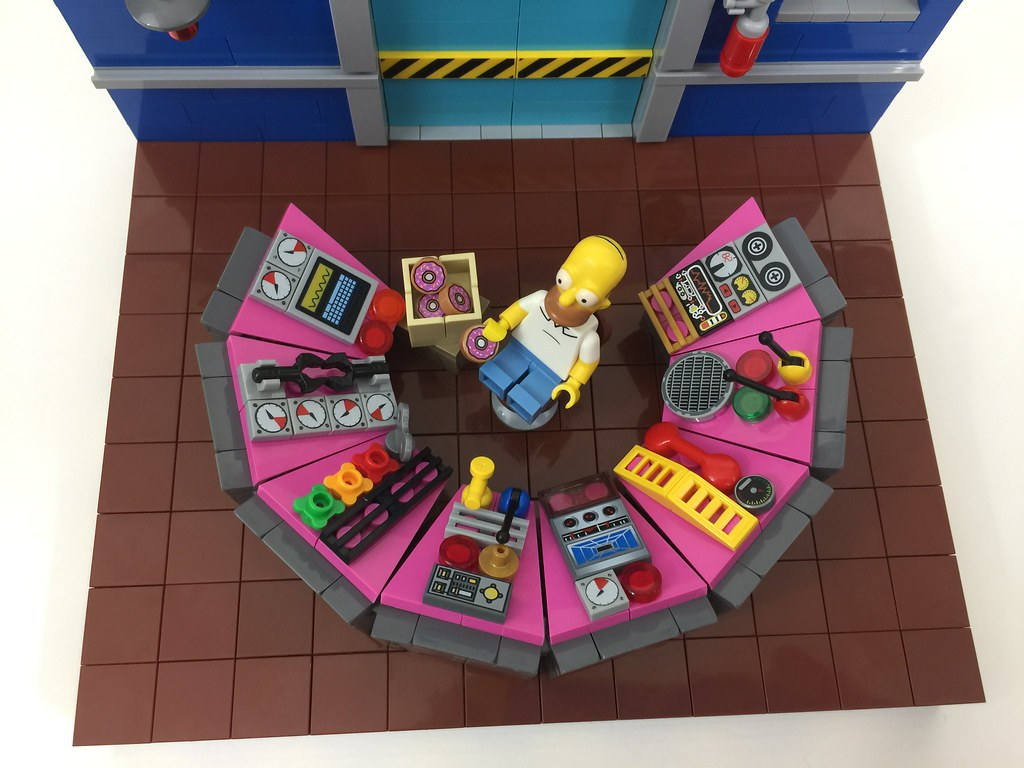 'Sector 7G' - LEGO The Simpsons: Homer's Workstation