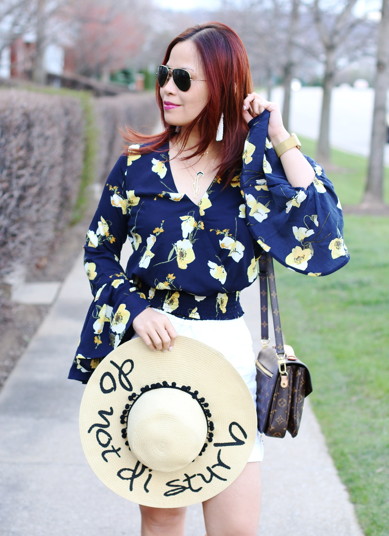 floral-bell-sleeve-top-do-not-disturb-hat-5