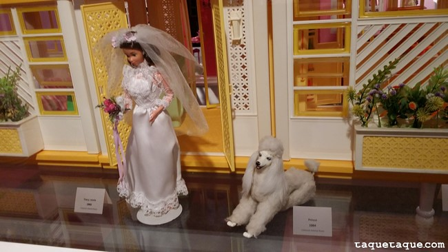 Barbie Novia (¿80s?) y su perrita (¿Princess?)