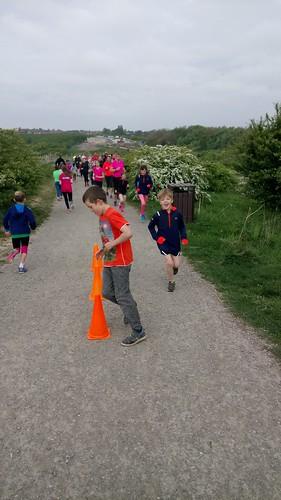 Gedling junior parkrun 7th May 2017