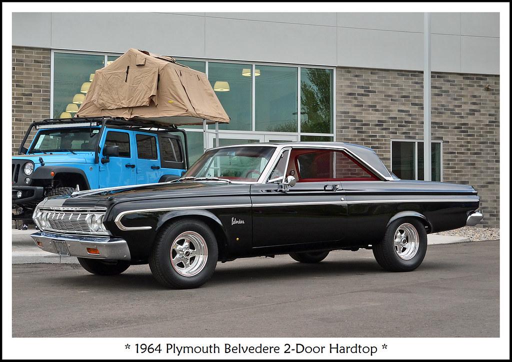 1964 Plymouth Belvedere 2 Door Hardtop The May 13 2017 Ca Flickr