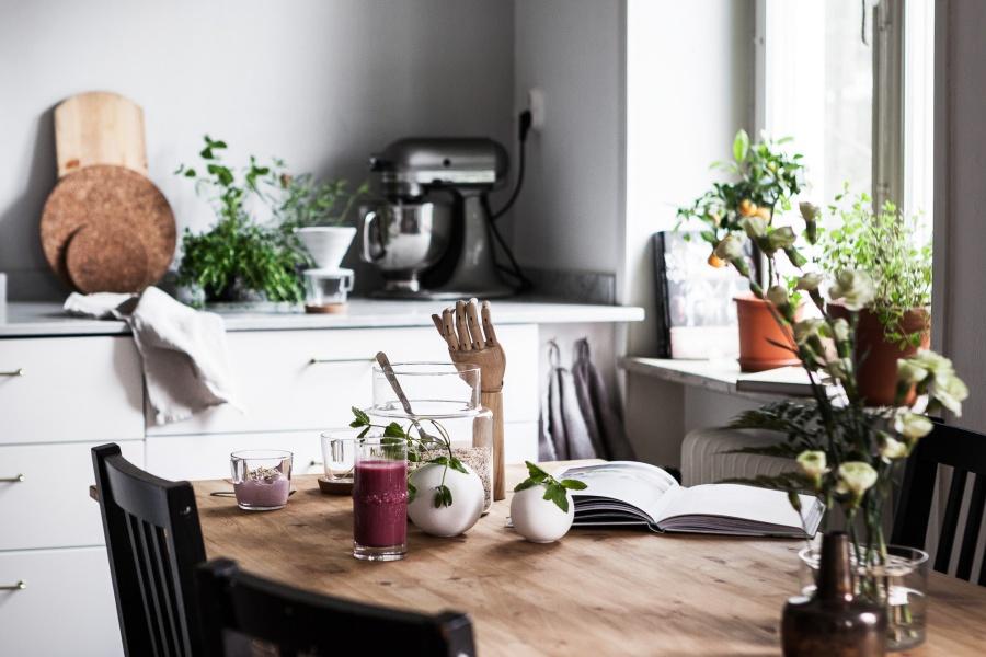 Small But Very Beautiful Swedish Home