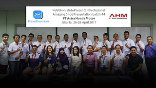 Workshop Amazing Slide Presentation AHM batch-14 bersama Pakar Slide | by dhonyfirmansyah