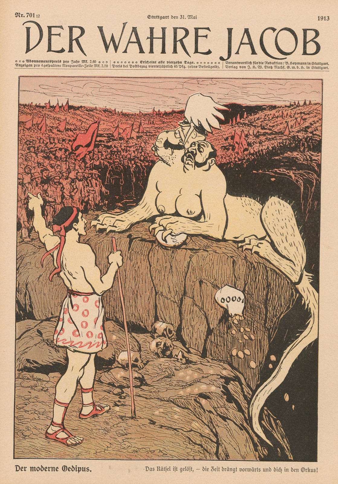Unsigned - The Modern Oedipus,1913