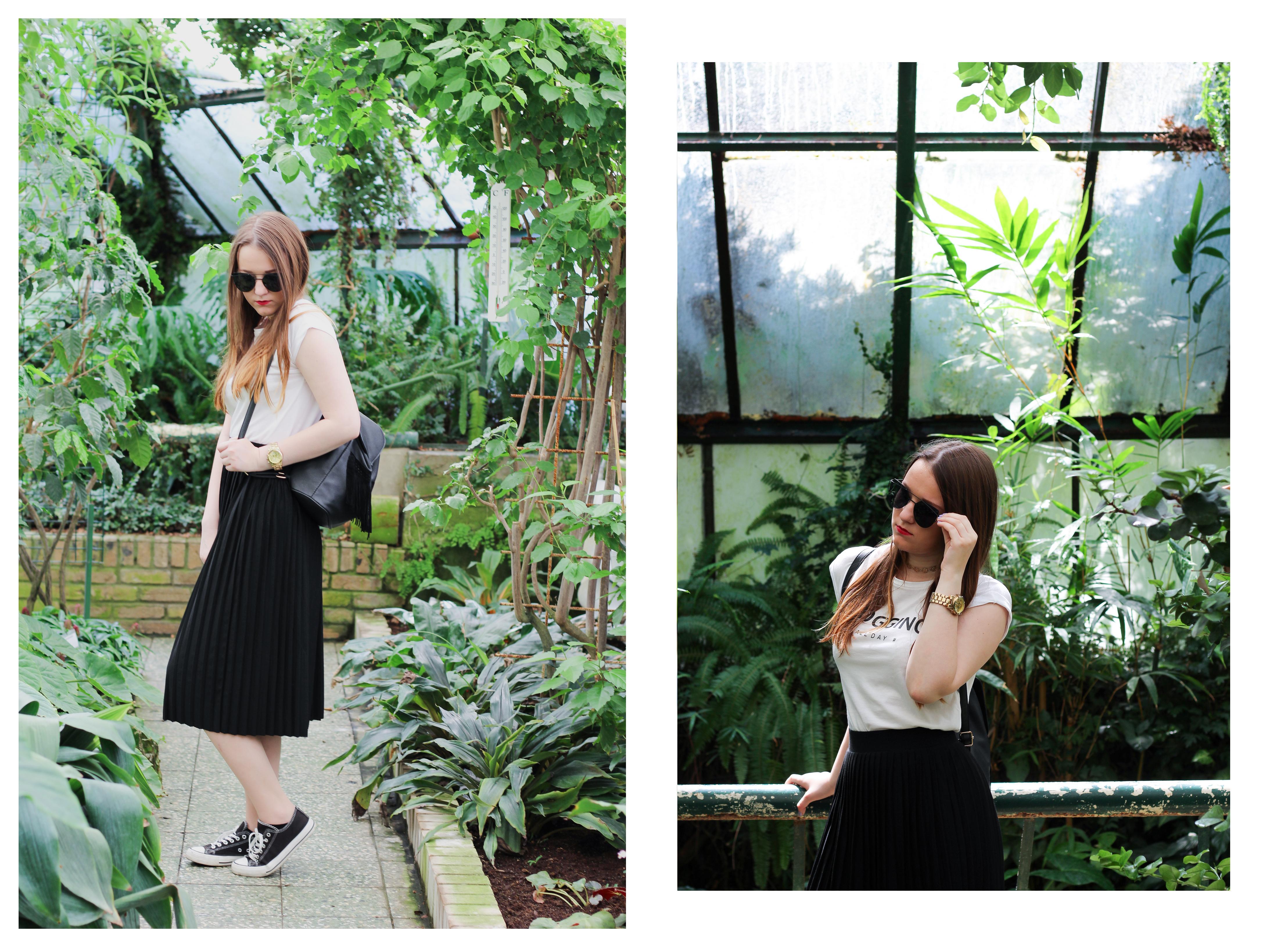 botanic garden girl blogger