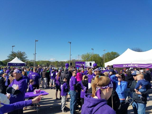 PurpleStride Madison 2017