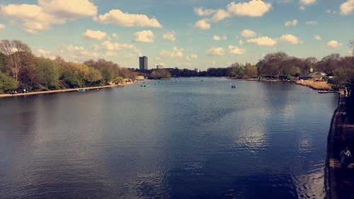a lovely afternoon in hyde park